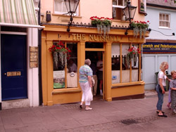 The Nutshell, the smallest pub in Britain.